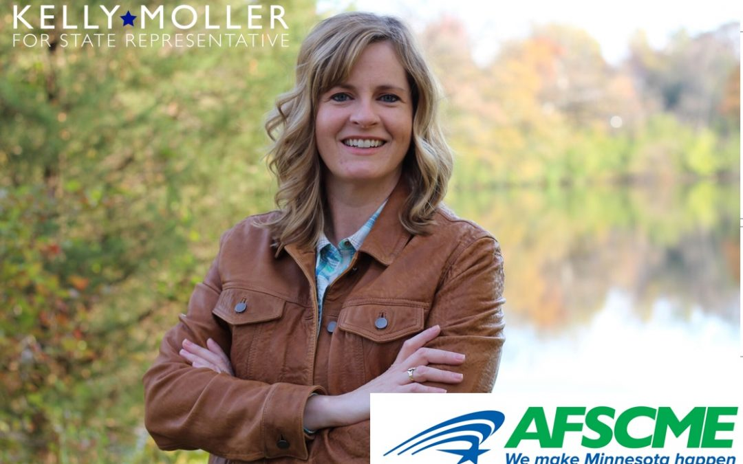 MN House Candidate Kelly Moller Receives AFSCME Council 5 Endorsement